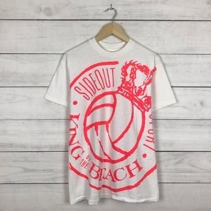 """Vintage 1990s Beach """"King"""" Volleyball Shirt"""